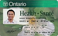 Carte Assurance Maladie Ontario.Patients